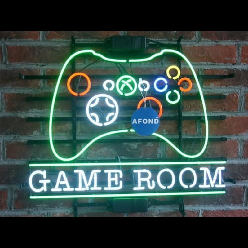 Game Room MAN CAVE  Neon Skilt