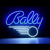 BALLY PINBALL GAME Neon Skilt