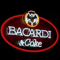 Bacardi And Coke Neon Sign Neon Skilt