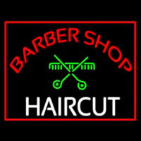 Barbershop Haircut  Neon Skilt