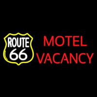 Block Motel Vacancy Neon Skilt