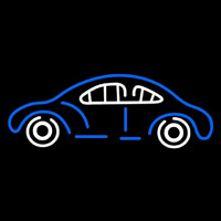 Blue Car Logo Neon Skilt
