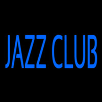 Blue Jazz Club Block 2 Neon Skilt