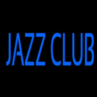 Blue Jazz Club Neon Skilt