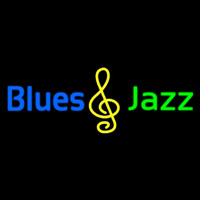 Blues Jazz Neon Skilt