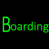Boarding Veterinary Pets Neon Skilt