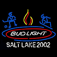 Bud Light Salt Lake 2002 Neon Skilt