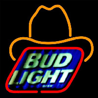 Bud Light Small George Strait Beer Sign Neon Skilt