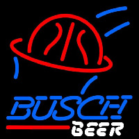 Busch Basketball Beer Sign Neon Skilt