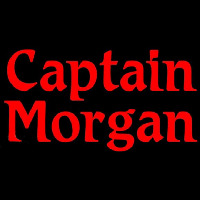 Captain Morgan Red Beer Sign Neon Skilt