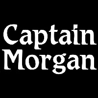 Captain Morgan White Beer Sign Neon Skilt