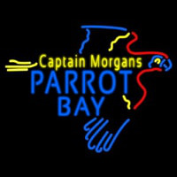 Captain Morgans Parrot Bay Neon Skilt