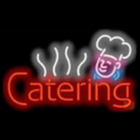 Catering Food Chef Diet Neon Skilt