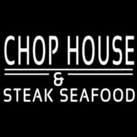 Chophouse And Steak Seafood Neon Skilt