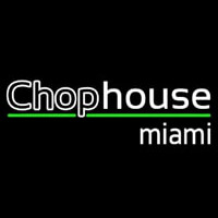 Chophouse Double Stroke Neon Skilt
