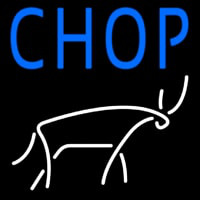 Chophouse With Logo Neon Skilt