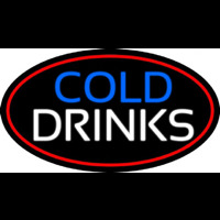 Cold Drinks Neon Skilt