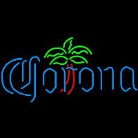 Corona Dominator Palm Tree Beer Sign Neon Skilt
