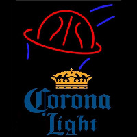 Corona Light Basketball Beer Sign Neon Skilt