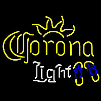 Corona Light Flip Flops Beer Sign Neon Skilt