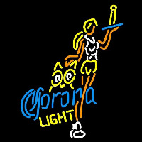 Corona Light Hooters Girls With Bottle Beer Sign Neon Skilt