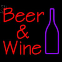 Custom Beer And Wine Bottle Neon Skilt