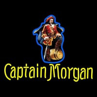 Custom Captain Morgan Logo Neon Skilt