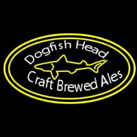 Custom Dogfish Head Beer Neon Skilt