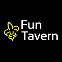 Custom Fun Tavern Logo 1 Neon Skilt