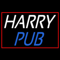 Custom Harry Pub 1 Neon Skilt