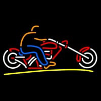 Custom Motorcycle Neon Skilt