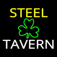 Custom Steel Tavern 1 Neon Skilt