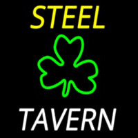 Custom Steel Tavern 3 Neon Skilt