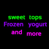 Custom Sweet Tops Frozen Yogurt And More 1 Neon Skilt