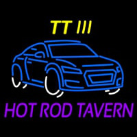 Custom Tt 3 Hot Rod Tavern Car Logo 1 Neon Skilt