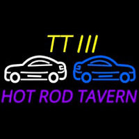 Custom Tt 3 Hot Rod Tavern Car Logo 2 Neon Skilt