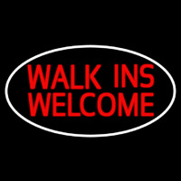 Custom Walks In Welcome 1 Neon Skilt