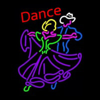 Dancing Couple Dance Neon Skilt