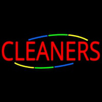 Deco Style Cleaners Neon Skilt