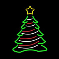 Decorative Christmas Tree Neon Skilt