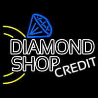 Diamond Shop Neon Skilt