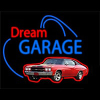 Dream Garage Chevy Chevelle Ss Neon Skilt