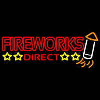 Fire Work Direct Neon Skilt