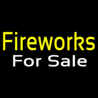 Fireworks For Sale Neon Skilt