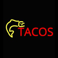 Fish Tacos Catering Neon Skilt