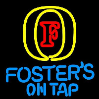 Fosters On Tap Beer Sign Neon Skilt
