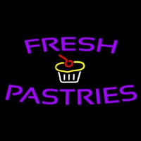 Fresh Pastries Neon Skilt