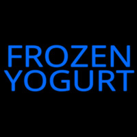Frozen Yogurt Neon Skilt