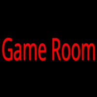 Game Room Bar Real Neon Glass Tube Neon Skilt