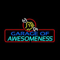 Garage Of Awesomeness Neon Skilt